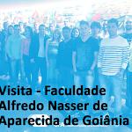 Visita de Estudantes - Faculdade Alfredo Nasser de Aparecida de Goiânia