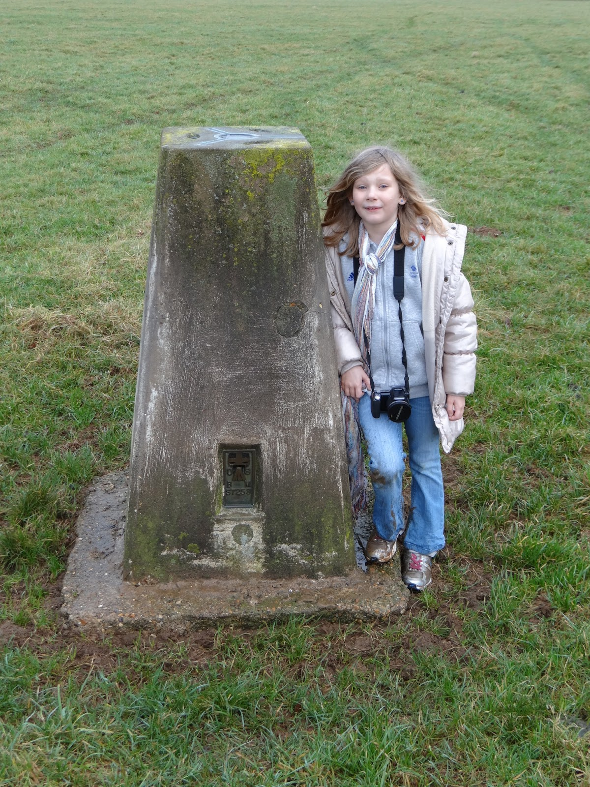 A Trig Point, and a Daughter