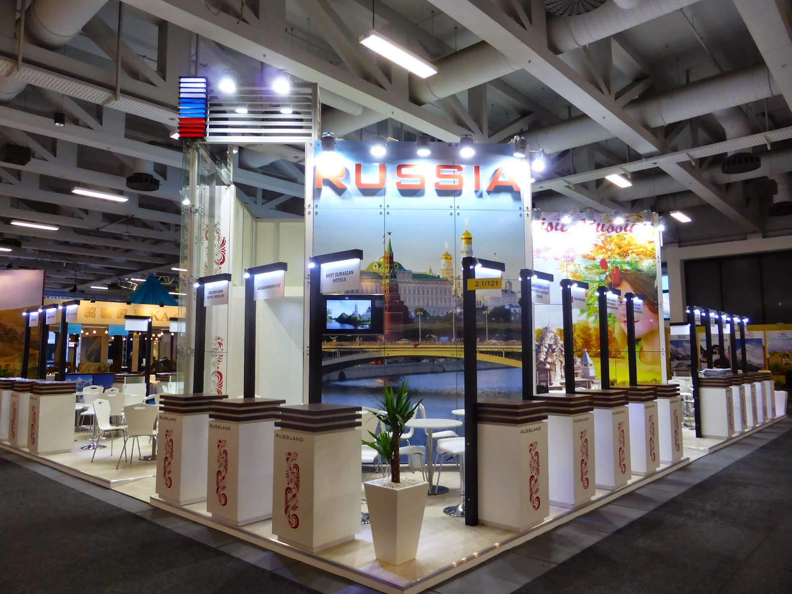 ITB Berlin, Russia stand - 2015