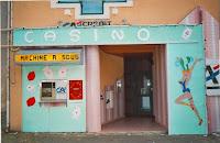 Inauguration 85 Ambiance Entrée du Crédit Agricole 1995 Cossé