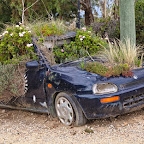 This is what happens if you leave your car parked for too long in the tropics