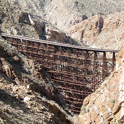 The awe inspiring Goat Canyon Trestle.