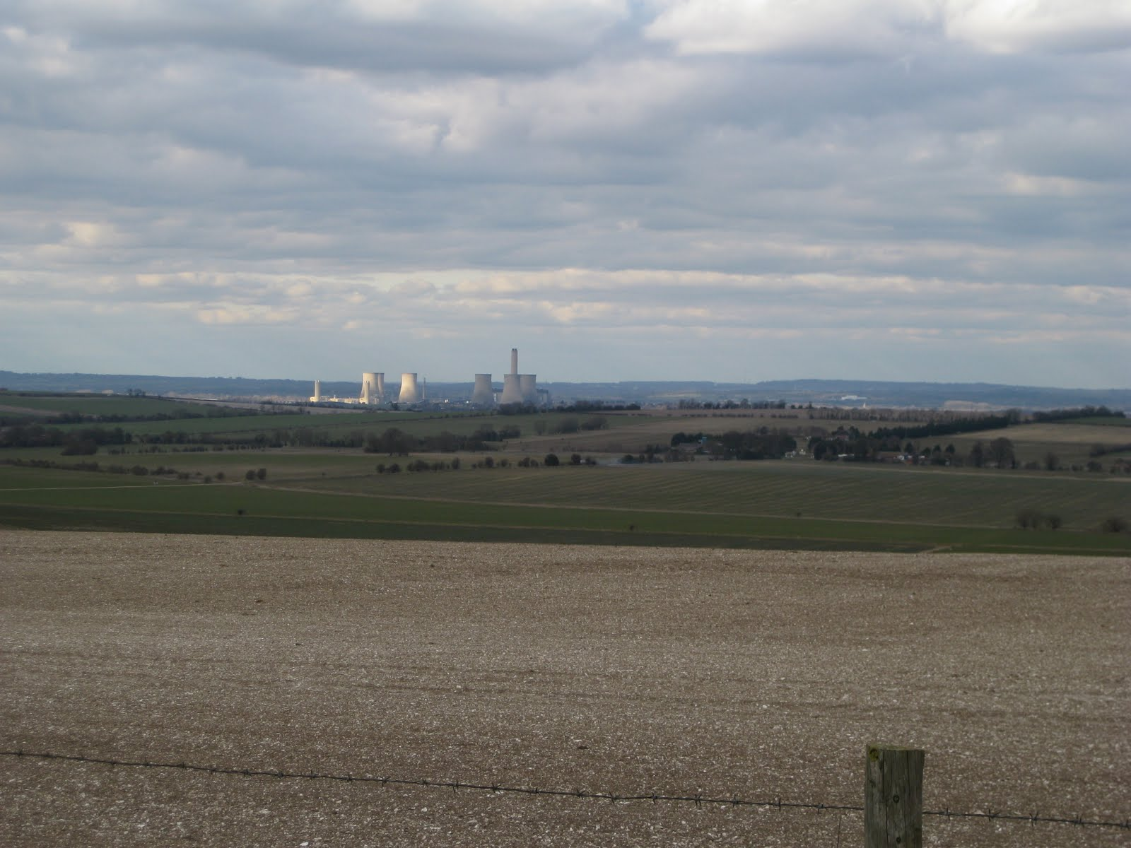 OK, the power station does spoil the view a little