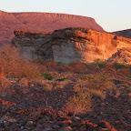 Sunset in Damaraland