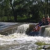 A raft už také jede