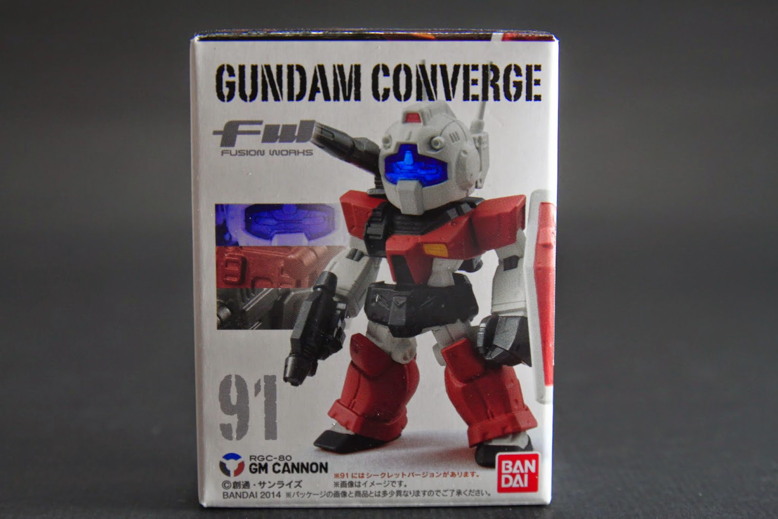 RGC-80 GM Cannon 吉姆加農先生