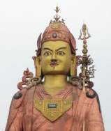 A large statue of Padmasambhava in Sikkim