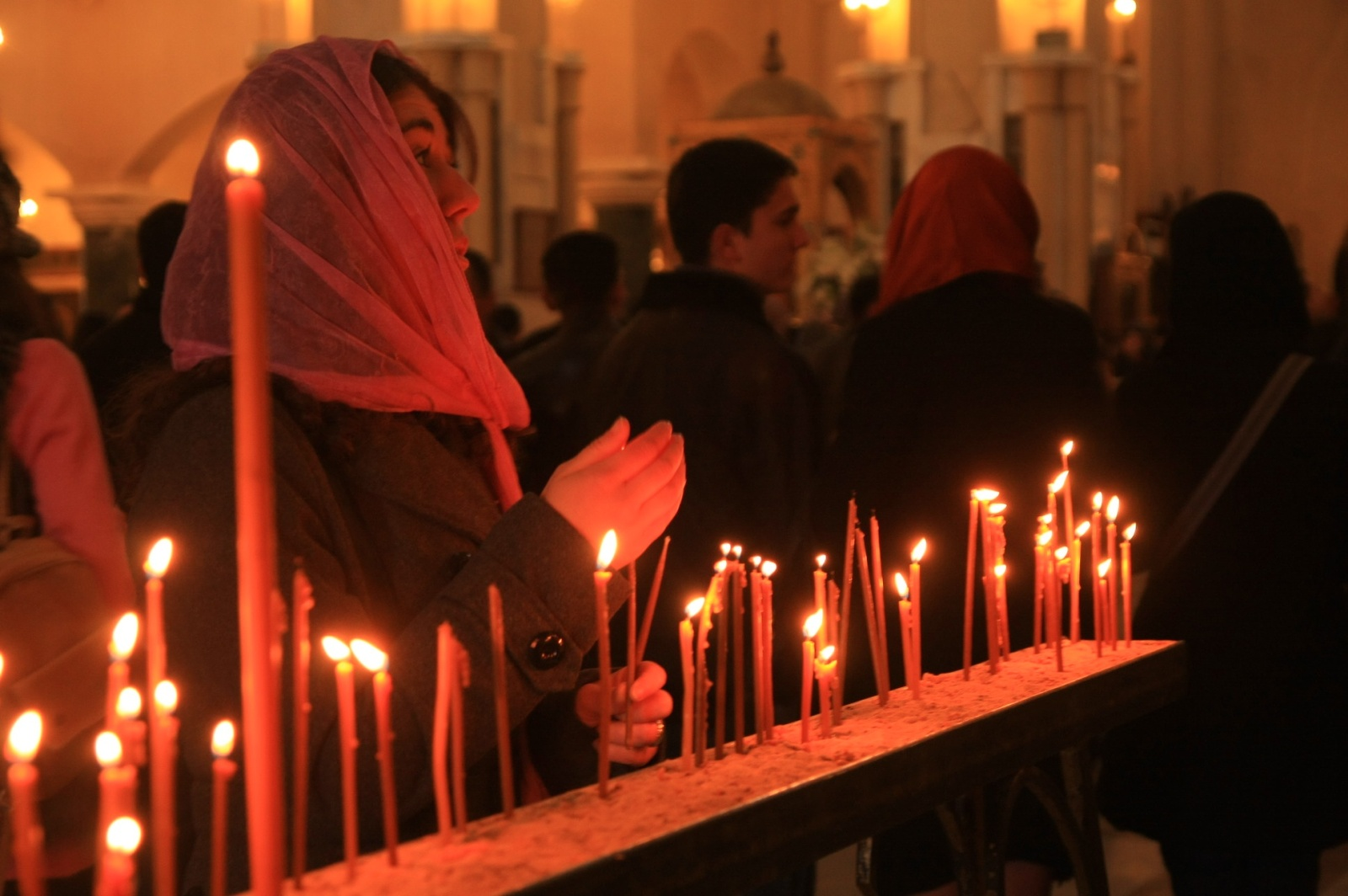 Georgians are mega religious - the old and the young, everyone