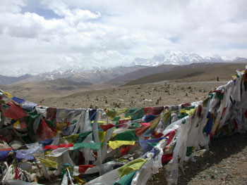 Prayer Flags at the Top of the Pass