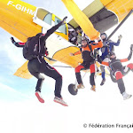 Saut de Tube à Skydive ZeWhite, fin 2014