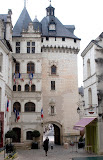 The old town in Loches