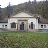 Lovecký (čajový) pavilon v empírovém slohu