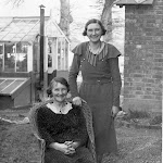 Gwen Greenough and her mother Charlotte