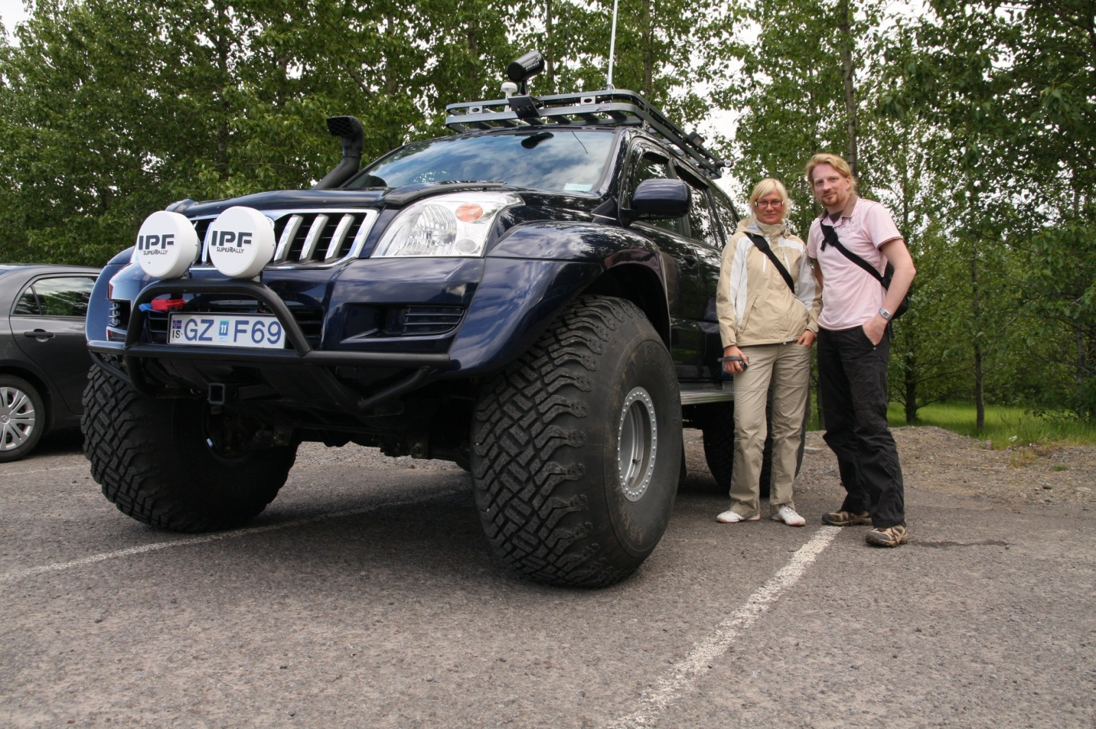 The type of car you need for serious crossing of Iceland's interior