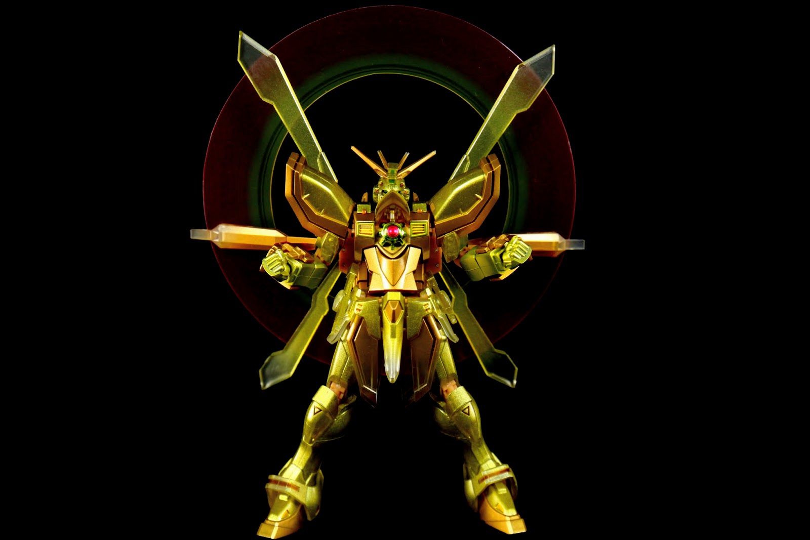 """所以稱之為""""God""""Gundam啊!"""