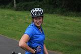 Sarah, on her Vineyard Vistas ride