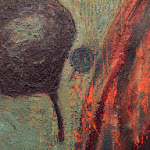 Baume II - detail; oil on canvas;© 1996