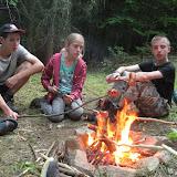 Večeře - bizon na ohni (1)