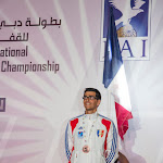 Mathieu Guinde, Bronze en Précision d'Atterrissage Junior Homme  @ 5DIPC 2014, photo Montfortls