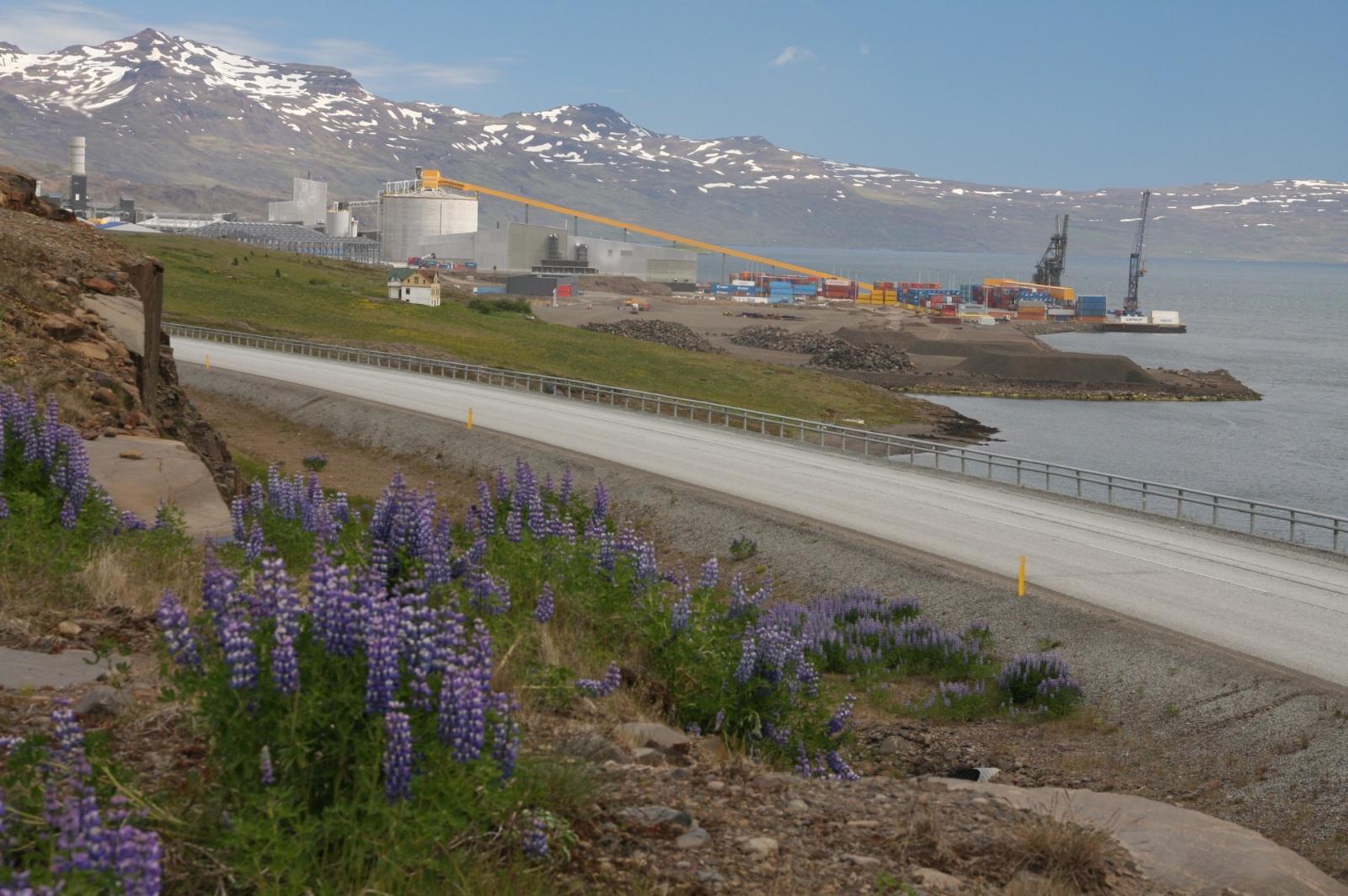 Alcoa Fjarðaál - the controversial aluminium smelter at Reydarfjorður