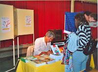 Journée du Livre 16 Gérard Cousseau, Gégé, auteur, Cossé 2002