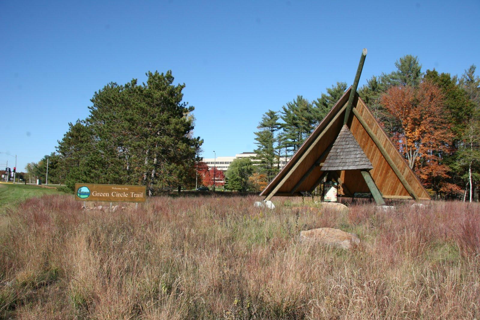 Green Circle Trailhead, University Trail