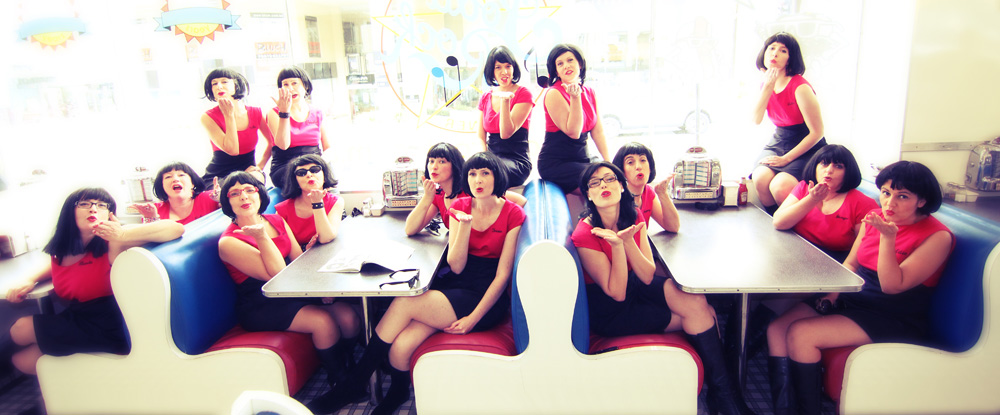 15 kisses from The Rebelles!