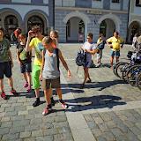 Na náměstí v Třeboni
