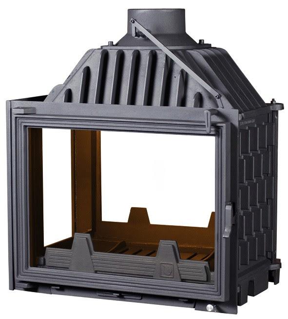 PANTHERM 62 2+1 LIJEVI lateral dim. 620x500 promjer dimovodne cijevi: fi150/fi200 težina ložišta:125 kg