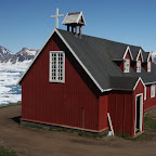 Local church, built in 1922 by shipwrecked Danish people