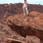 Twyfelfontein rock climbing