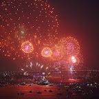 Sydney NYE 2015 fireworks, family edition at 9pm