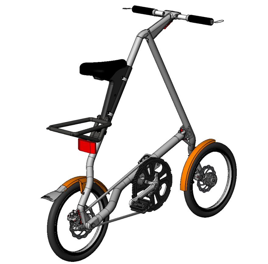 Strida5 in Solidworks