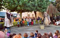 Cie Skakkja 06, Le bal dans les étoiles, Gastines 2003