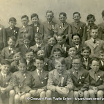 Confirmation class 1950