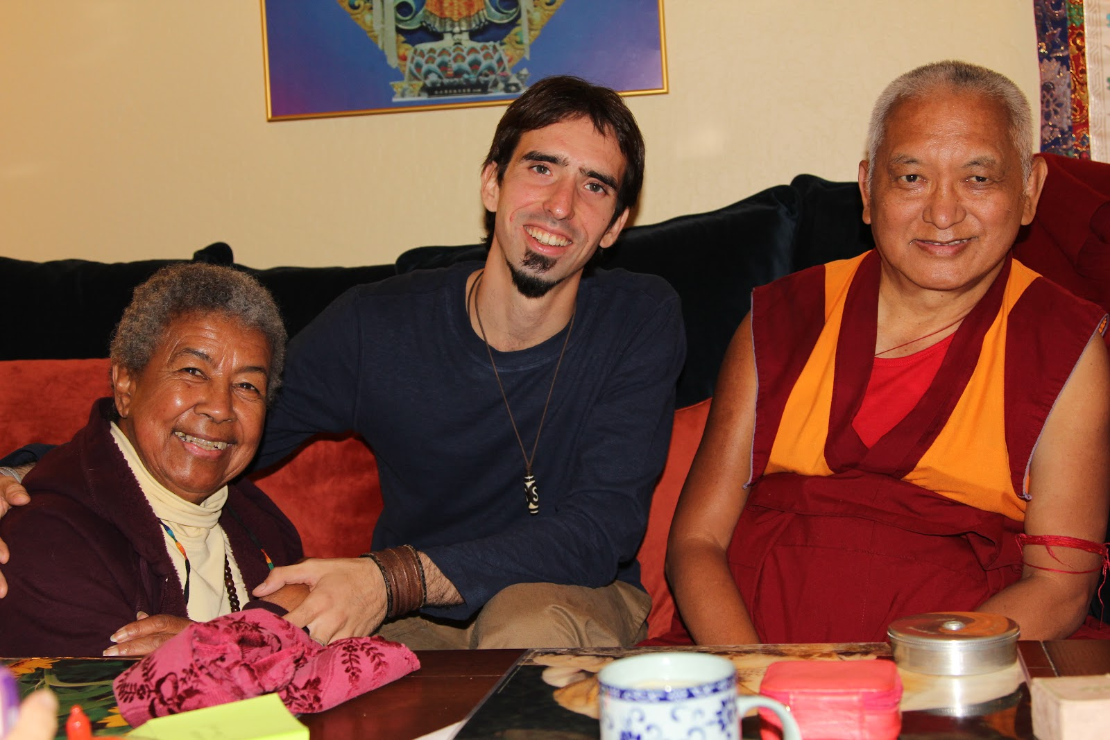 Mummy Max, Osel and Lama Zopa Rinpoche Sep 2012