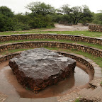 The biggest meteorite on Earth near Grootfontein
