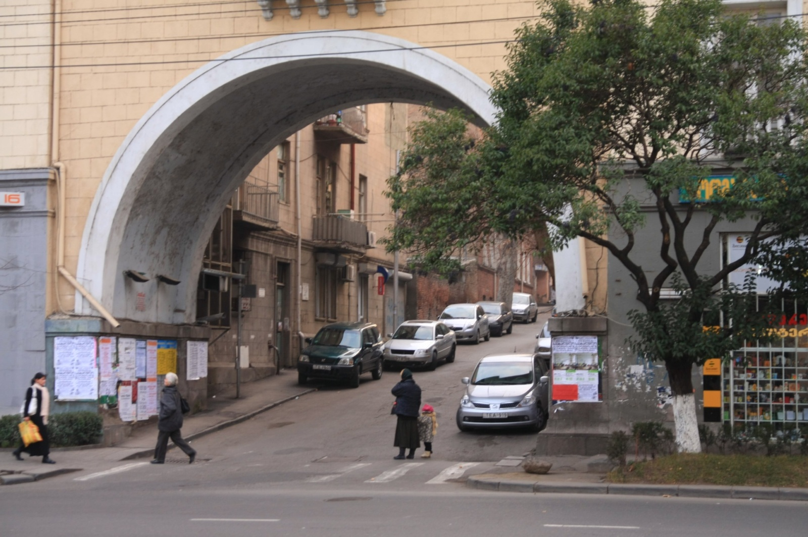 Fancy arches are quite common