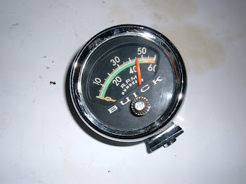 Factory Buick Tach, first available in 1962 on the Wildcat with 7K and 1963 and later like this one with 6K.