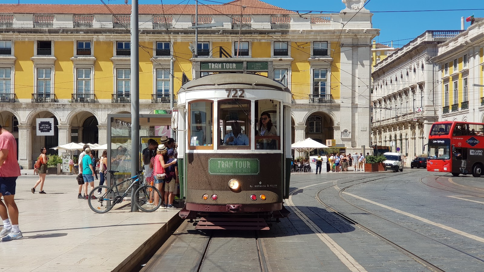 Trams are for tourists