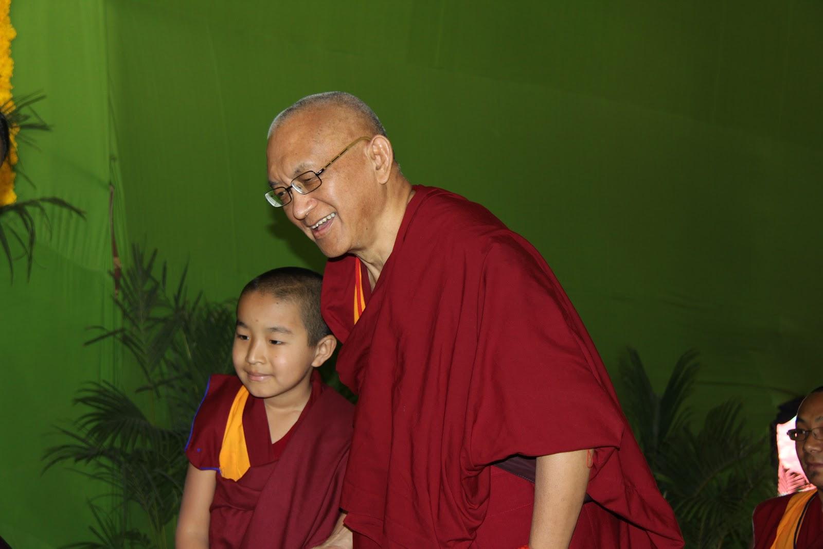 Domo Rinpoche - who Rinpoche supports