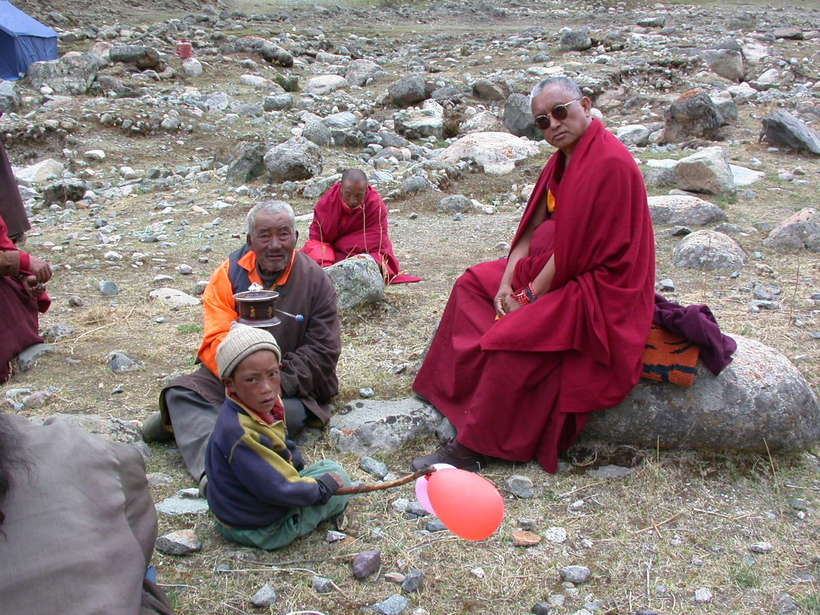 In Tibet