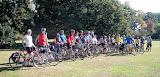 The group on Paul's Birthday Tea ride