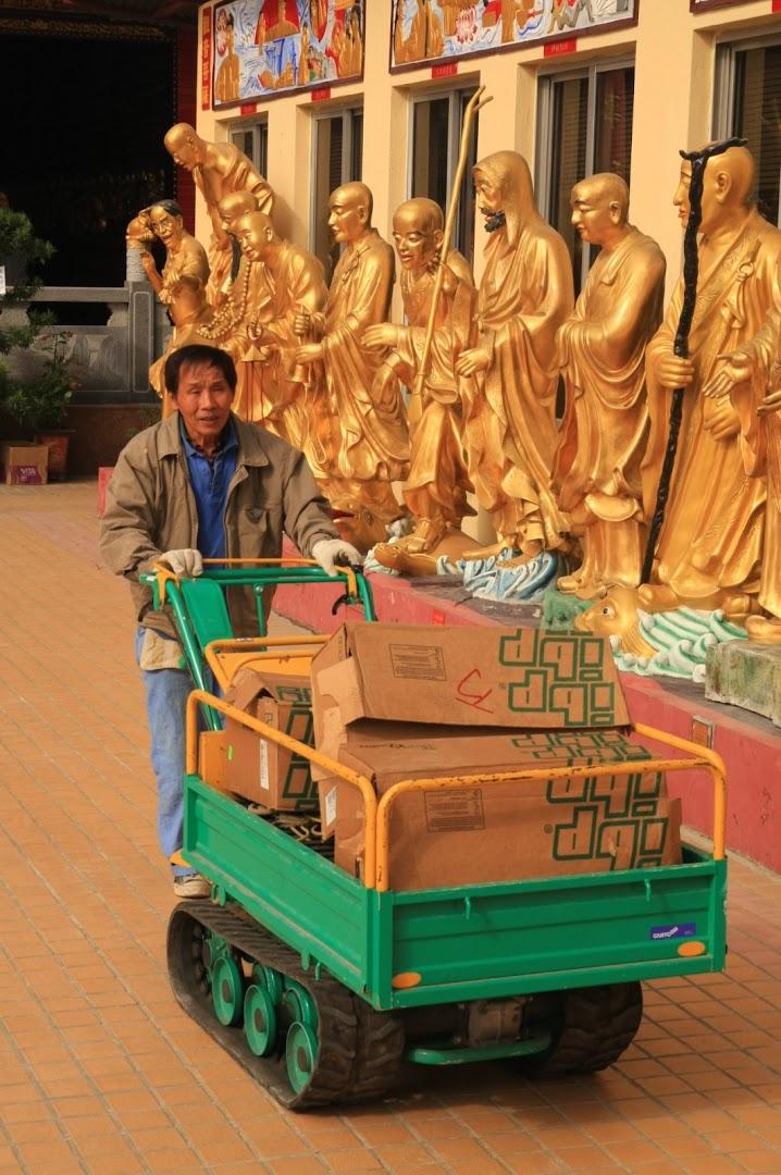 Unlike Vietnam, Cambodia, etc - even the monasteries are very hi-tech here