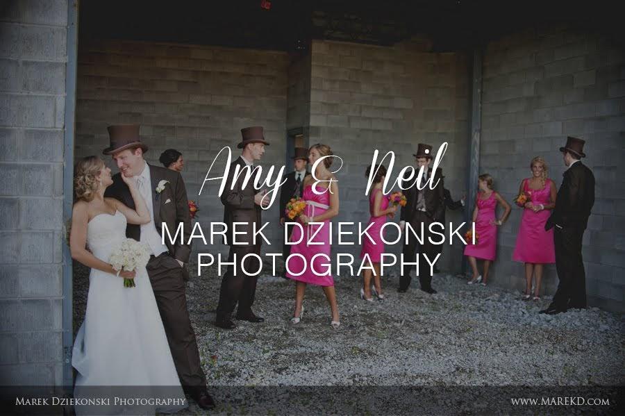Amy & Neil by Marek Dziekonski Photography