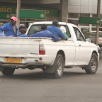 Public transportation (very popular in Africa)