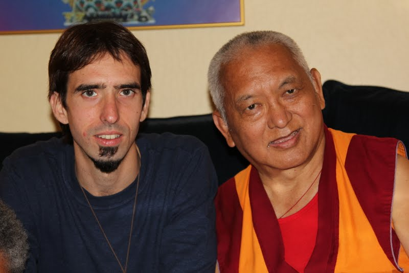Osel and Rinpoche