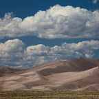 Approaching Great Sand Dunes NP