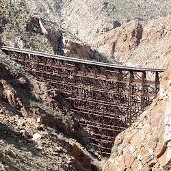 The awe inspiring Goat Canyon Trestle.