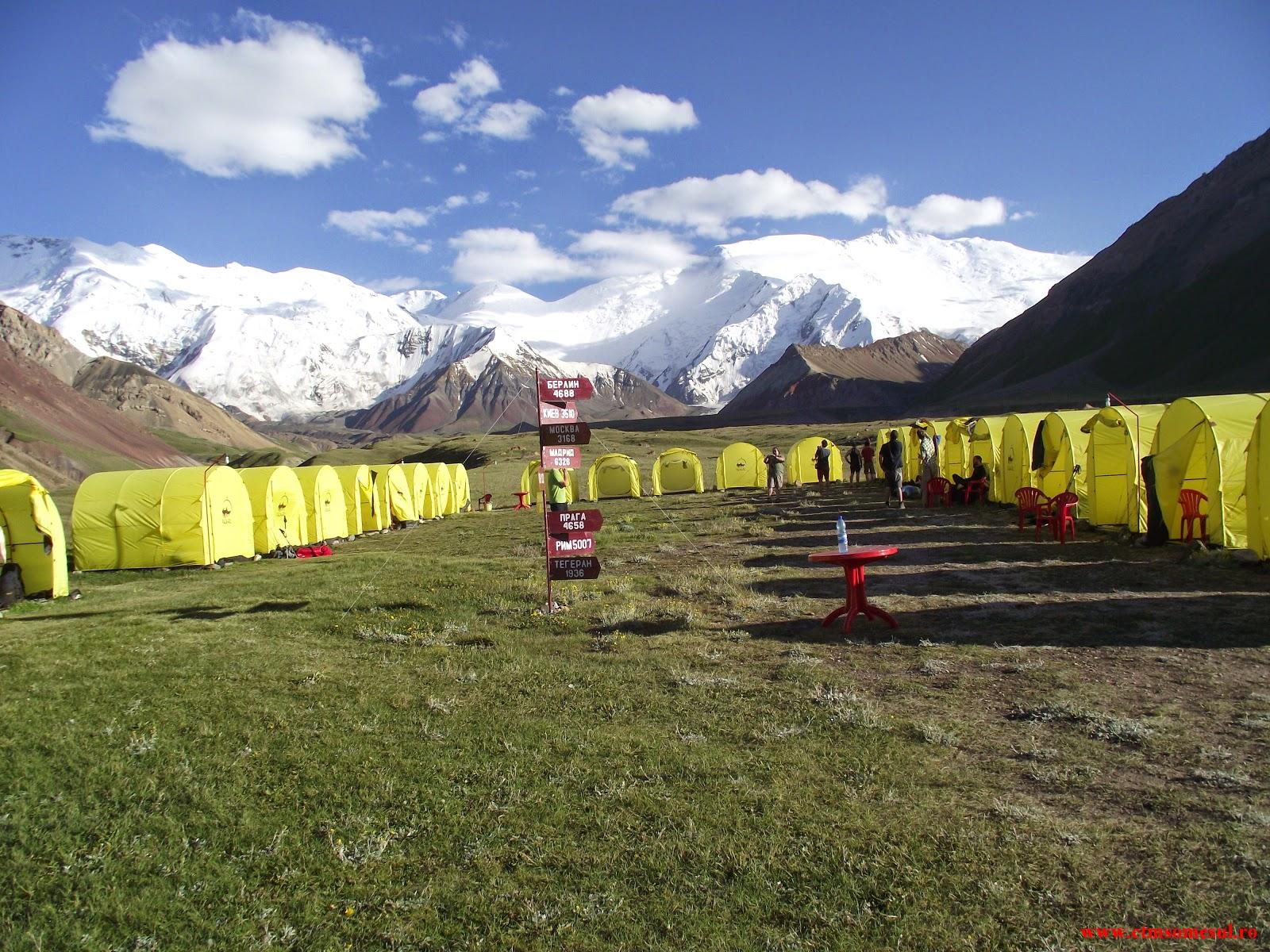 Base Camp 3600 m